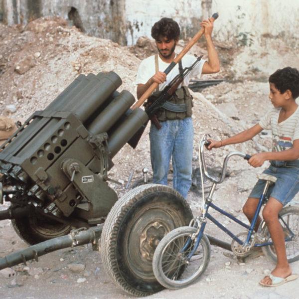 Palestiniane Amal camps war 1988
